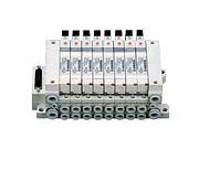 5 通电磁阀底板配管性/插入式 VQ