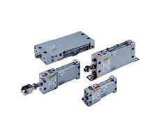 带锁的平板式气缸  MLU/MDLU
