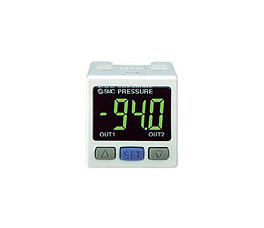 2色显示式数字式压力传感器的控制器   PSE300