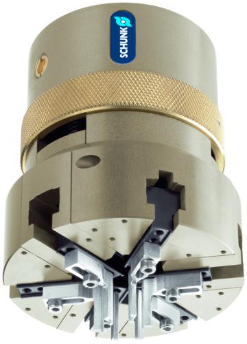 Schunk O型圈机械手