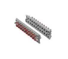 长方形多管对接式接头  KDM