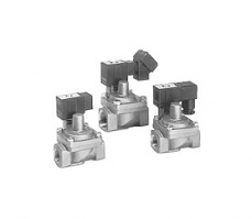 水锤缓和型、先导式2通电磁阀   VXR